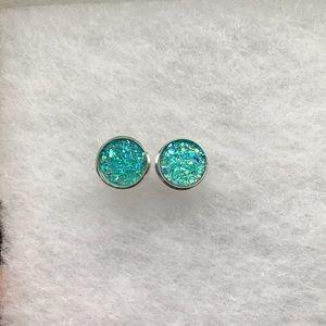 Beautiful Blue Earring Set